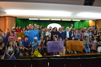 Children in Argentina advocate for their rights in commemoration of IDEP