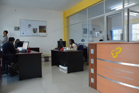 Arigatou International office in Nairobi, Kenya