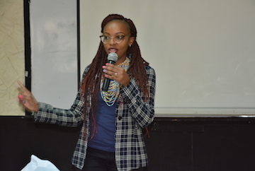 Stacy Ndungu, Consultant on Gender Based Violence