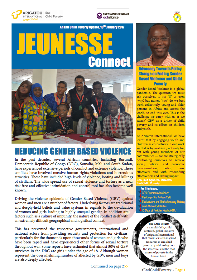 Jeunesse Connect Issue 1 thumbnail
