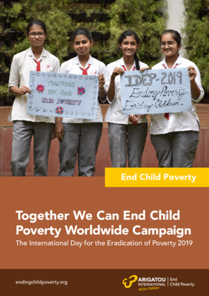 Together we can end child poverty worldwide campaign report - 2019 thumbnail
