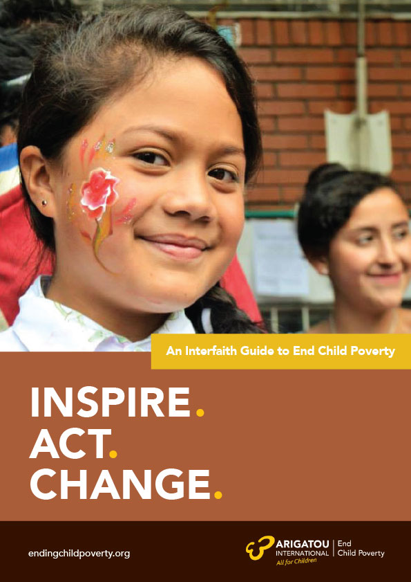 An Interfaith Guide to End Child Poverty: Inspire. Act. Change.