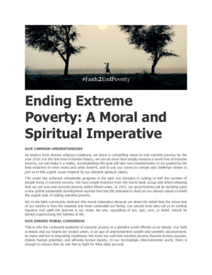 Ending Extreme Poverty: A Moral and Spiritual Imperative thumbnail