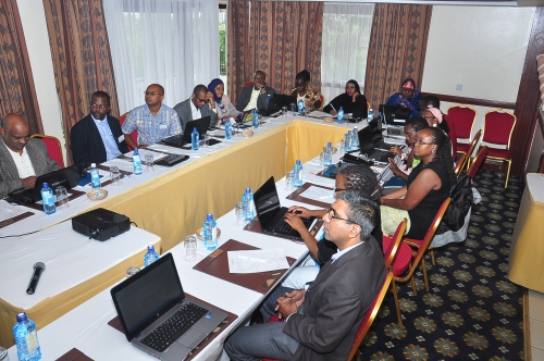 Kaiciid Media Training Workshop, at Serena Hotel - Nairobi
