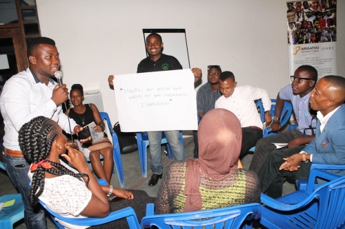 """Leadership Mentoring Forum In Tanzania -""""The role of youth leaders in protecting children from violent extremism, Gang Violence and  Organized crime""""."""
