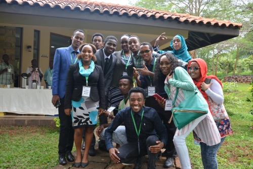 Regional Youth Forum on Peace-building & Transformative leadership Training -  Sagana 2017